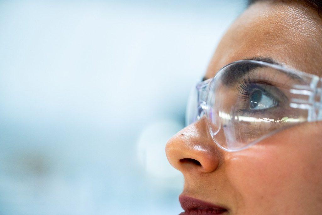 goggles, chemist, researcher