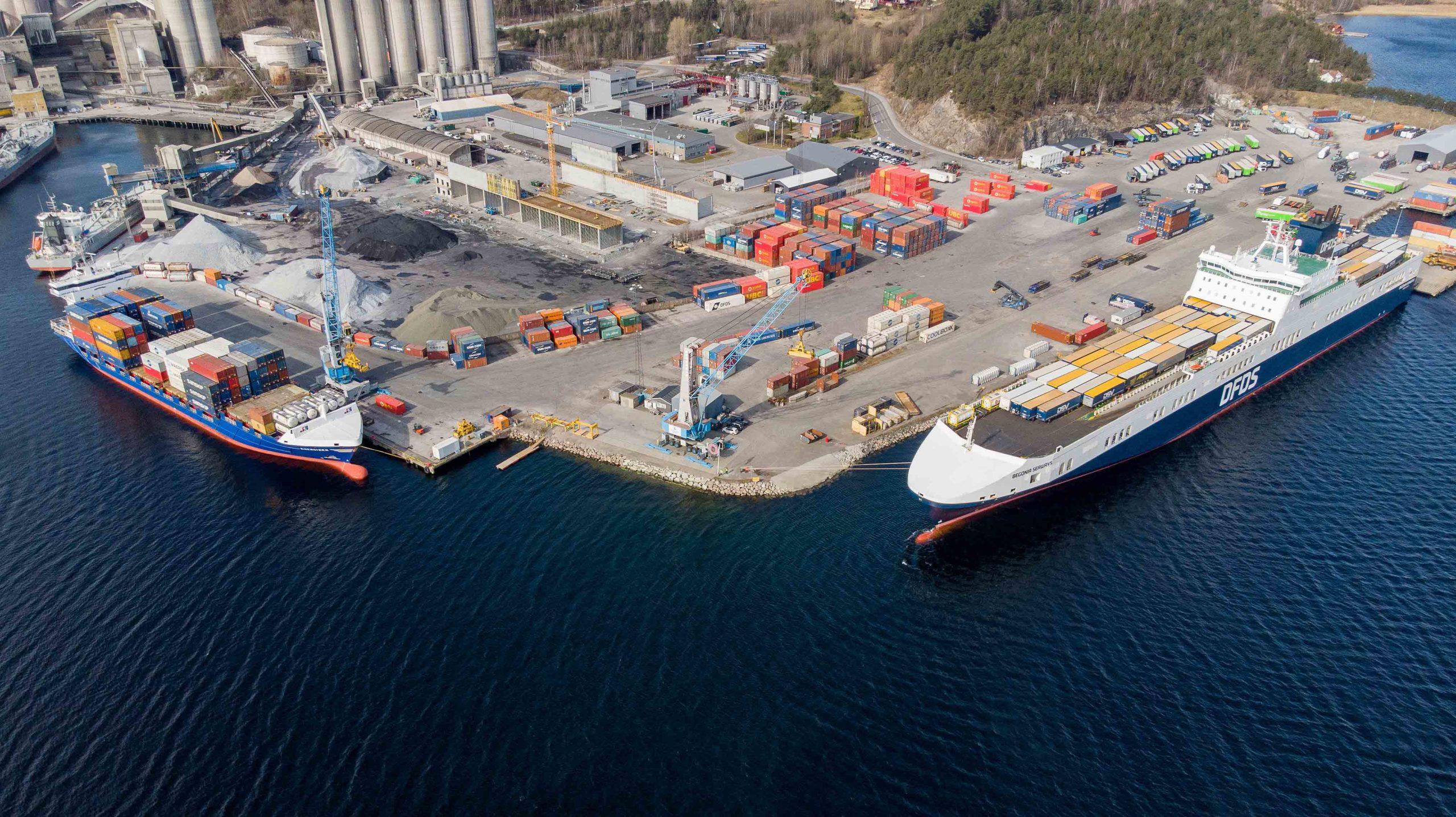 Grenland Havn Foto: Grenland Havn